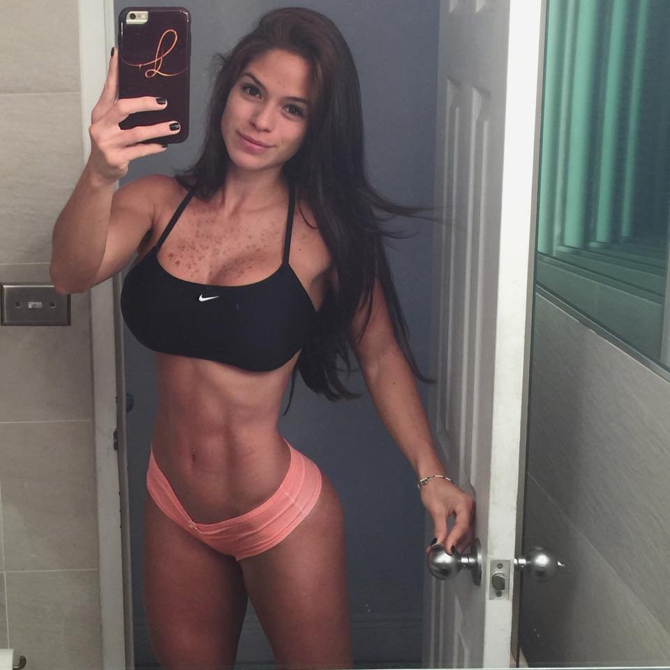 Michelle Lewin morning no makeup