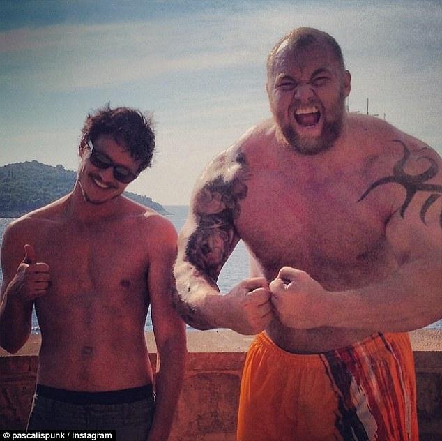Hafþór 'Thor' Júlíus Björnsson The Mountain Game of Thrones 2