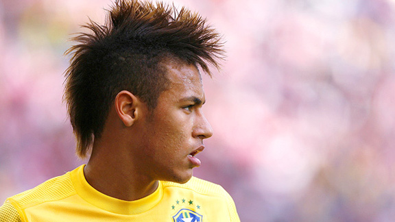Neymar Hairstyles and Haircuts