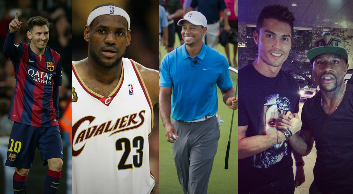Net worth of the Top 10 Athletes in the World
