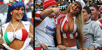 check out the hottest soccer fans in the world